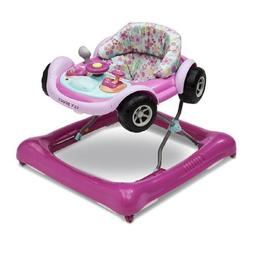 Delta Children Lil Drive Play Car Style Rolling Baby Bouncer