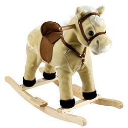 Lil Henry the Rocking Horse, Hand Crafted With A Wood Core