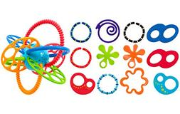 Oball Linky Loops with Flexi Loops Teething Toy