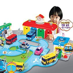 Little Bus Tayo - Bus Garage Special Set, Road play Toy, Spe