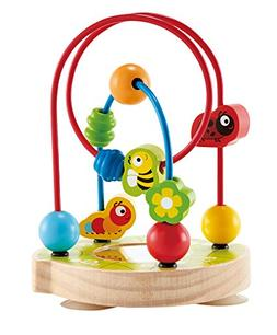 Hape LIMITED EDITION Little Critters Toddler Wooden Bead Maz