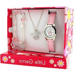 Ravel Little Gems Kids Horse Watch & Jewellery Gift Set For