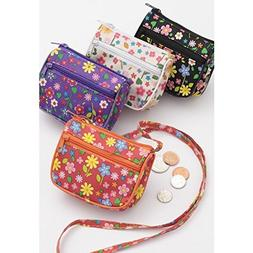 Little Girls Floral Print Shoulder Purse