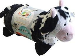Little Miracles Baby Blanket & Plush Cow Snuggle Me Sherpa b