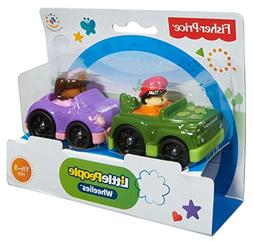 Fisher-Price Little People Wheelies Mia and Koby 2-Pack
