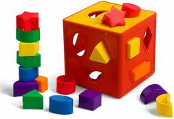 Lua Shape Sorting Cube-Classic Toy 18 Shapes For Kids Multic