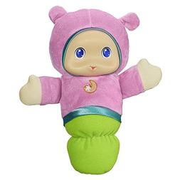 Playskool Pink Glo Worm Stuffed Lullaby Toy for Babies with