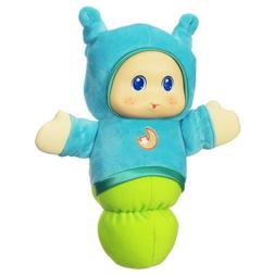 Playskool Lullaby Gloworm Toy with 6 lullaby tunes, Blue