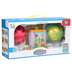 MagicCindy 3 in 1 Baby Roller Music Box Toys and Games Presc