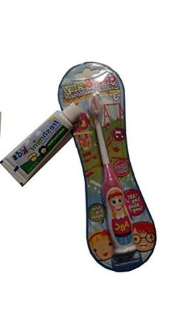 "Kids Manual Toothbrush, Sings ""ABC's Sing Along Song"" Teache"