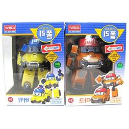 Robocar Poli MARK BUCKY Transformer Robot Car Toy Academy Ac