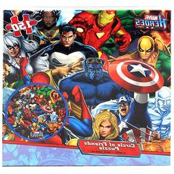 Marvel Heroes Lenticular Puzzle - Circle of Friends - 150-Pi