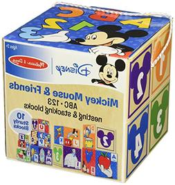 Melissa & Doug Mickey Mouse & Friends Nesting & Stacking Blo