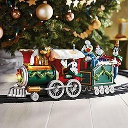 Disney Mickey Mouse Holiday Train Set Collectible Exclusive