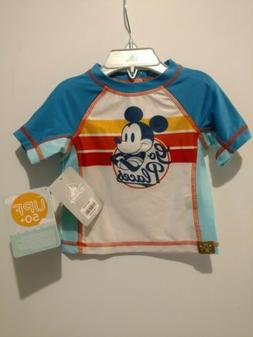Disney Mickey Mouse Rash Guard For Babies Go Places Swim Shi