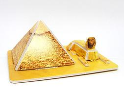 Mini 3D Puzzles Architecture Egyptian Pyramids Easy for Baby