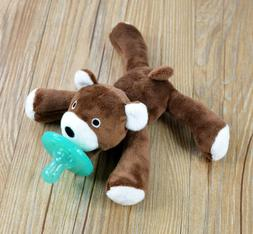 Mini Cuddly Plush Animal Baby For 0-6 Months Safe Silicone P