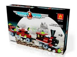 MINI TRAIN - BUILDING BLOCKS 169 pcs set 40603 in NICE GIFT