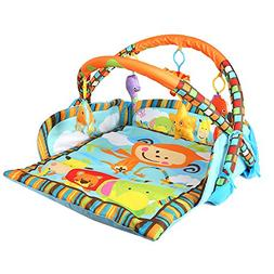 Livebest Baby Monkey Activity Gym Play Mat