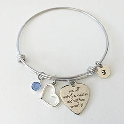 Mother's Day Bracelet from Son~ Personalized Stainless Steel