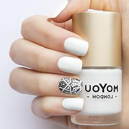 MoYou London Stamping Nail Lacquer - White Knight 15ml