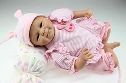 MPK Reborn Baby Dolls That Look Real 18 Inch Magnetic Pacifi