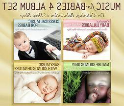 MUSIC FOR BABIES 4 CD SET Baby Lullabies, Classical Baby, Ba