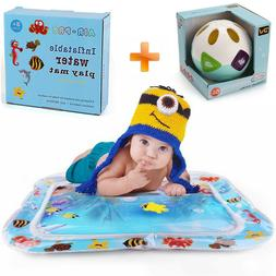 Musical Developmental Ball Toys + Inflatable Water Mat For N