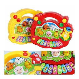 Baby Kids Musical Educational Animal Farm Piano Developmenta