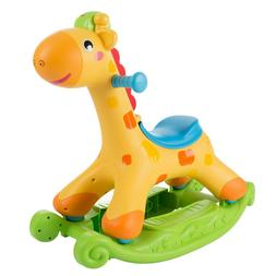 Musical Interactive Rocking Horse Giraffe Ride on for Babies