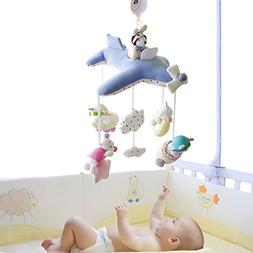SHILOH Baby Crib Decoration 60 tunes Lullabies Plush Musical
