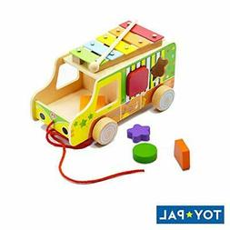 ToyPal Musical Shape Sorter Toy for 1 Year Old - Educational