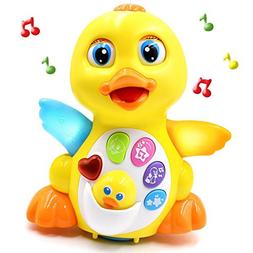 Fantastic Zone Light Up Dancing and Singing Musical Duck Toy