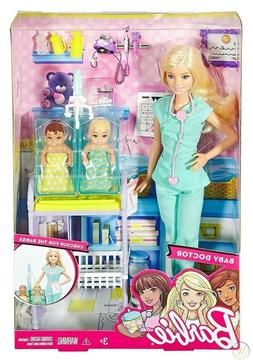 NEW Barbie Baby Doctor Checkups for The Babies Playset Toy