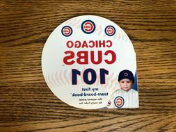 New CHICAGO CUBS baseball 101 first numbers board book for T
