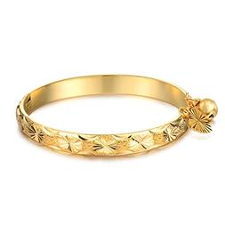 COCO Park New Children Jewelry 18k Gold Plated Cuff Bracelet