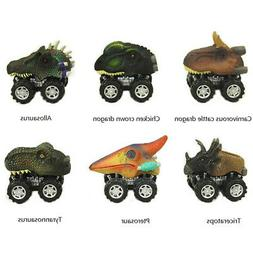New Dinosaur Model Car Toys Pull Back Car Kids Children Cool