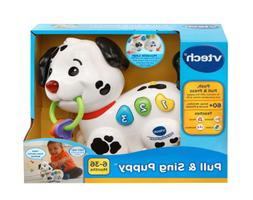 New VTech Pull and Sing Puppy Educational Toddlers Toy 1 to