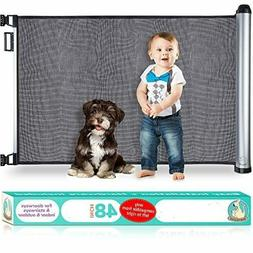 New Retractable Baby Gate - Extra Wide Baby Safety Gate and