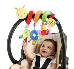 New Stroller Spiral Baby Toy for Active Car Seat Travel Hang