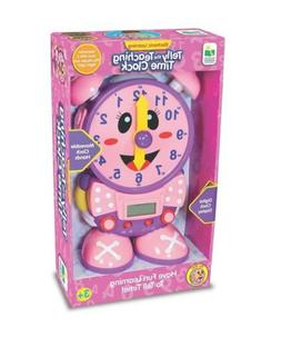 NEW! The Learning Journey Telly The Teaching Time Clock, Pin