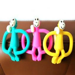 Newborn Baby Silicone Teethers Training Toys Kids Safety For