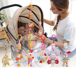Newborn Bed Stroller Rattle Plush Baby Mobile Toy for Kids R