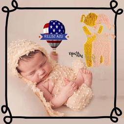 Newborn Photography Clothes For Baby Boys Girls Crochet Knit