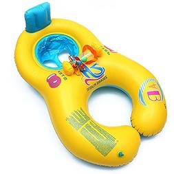 NHSUNRAY Baby and Me Combo Boat, Parents-child Float Safe Se