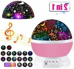 Night Light for Kids,Unicorn Gifts for Girls,Star Projector