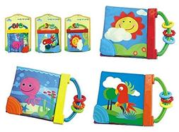 NiGHT LiONS TECHBaby's Non-Toxic Fabric Book Soft Cloth Book