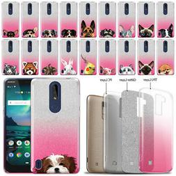 "For Nokia 3.1 Plus 2019 6"" Cricket Version Animal 2 Tone Spa"