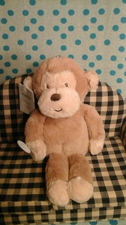 NWT NEW Carter's Musical Plush Monkey Soother Brown tan lull