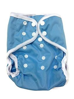 BB2 Baby One Size Solid Happy Leak-free Snaps Cloth Diaper C